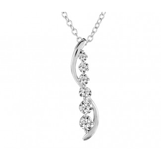 Cascade Pendant, Made with Swarovski Elements®