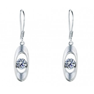 Divine Drop Earrings, Embellished with Crystals from Swarovski®