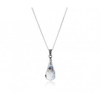 Drop Pendant, Embellished with Crystals from Swarovski®