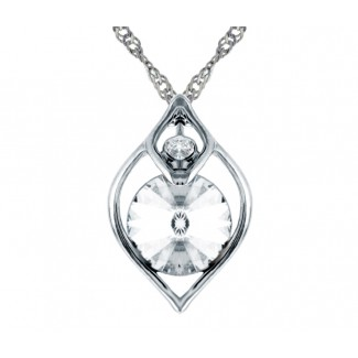 Eden Pendant, Embellished with Crystals from Swarovski®