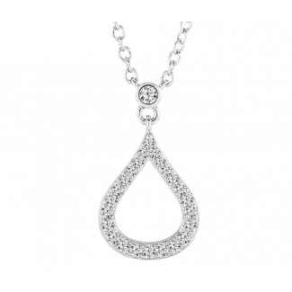 Embrace Pendant, Made with Swarovski Elements®