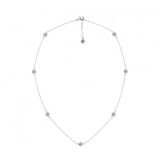 Dew Drop Necklace, Embellished with Crystals from Swarovski®
