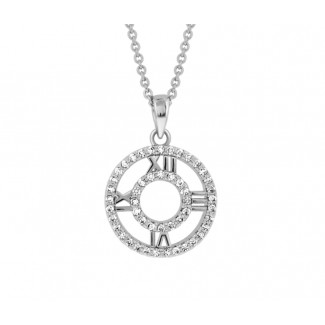 Eternal Pendant, Embellished with Crystals from Swarovski®