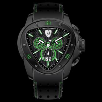 Spyder Black Green Trim
