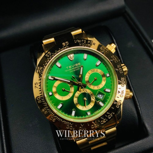 Californian Racer Perpetual Automatic Gold/Green
