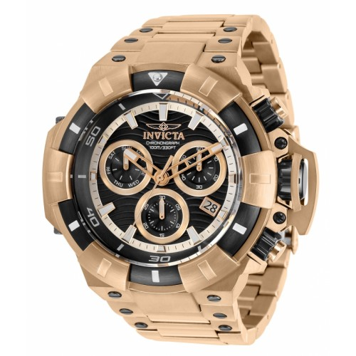 Akula Chronograph Rose Gold Steel 52.5mm