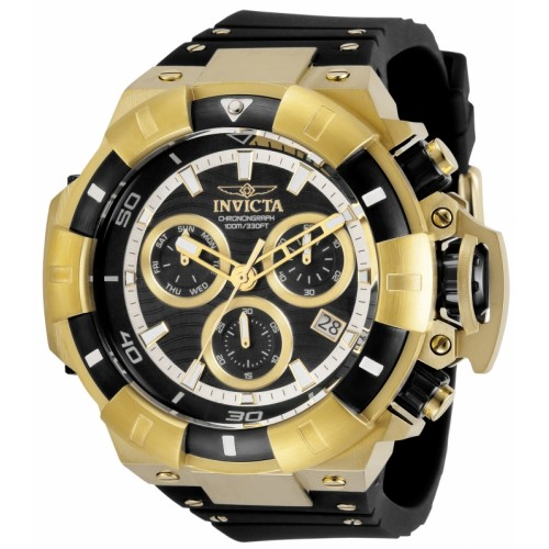 Akula Chronograph Ionic/Gold Silicone 52.5mm