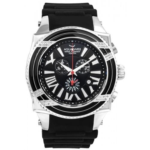Swissport XG Diamond D Silver/Black