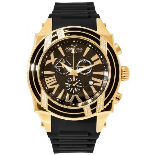 Swissport XG Diamond D Gold/Black