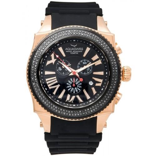 Swissport XG Diamond C Rose Gold/Black
