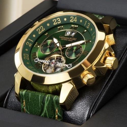 Astonia Platin Britannic GOLD Watch