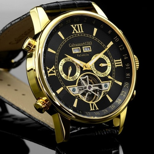 Valencia Gold Automatic Watch