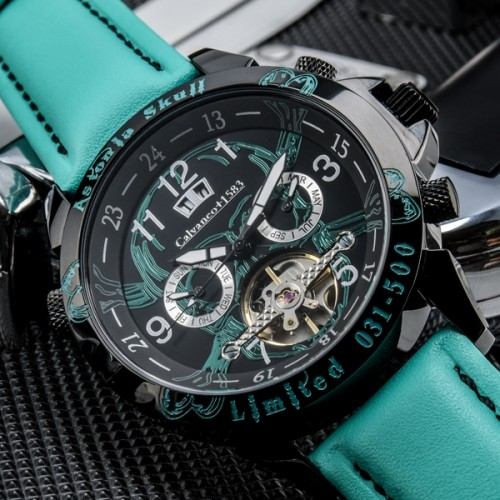 Skull Turquoise Limited Edition 500 Automatic Watch