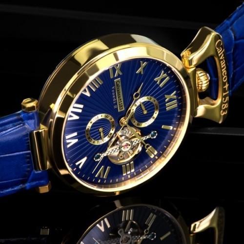 Venedi Automatic Watch Gold/Blue