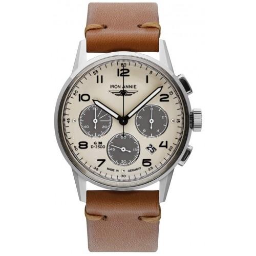 G38 Chronograph Beige/Brown