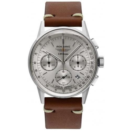 G38 Dessau Chronograph Silver/Brown
