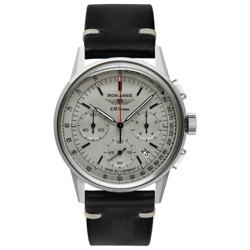 G38 Dessau Chronograph Grey/Black
