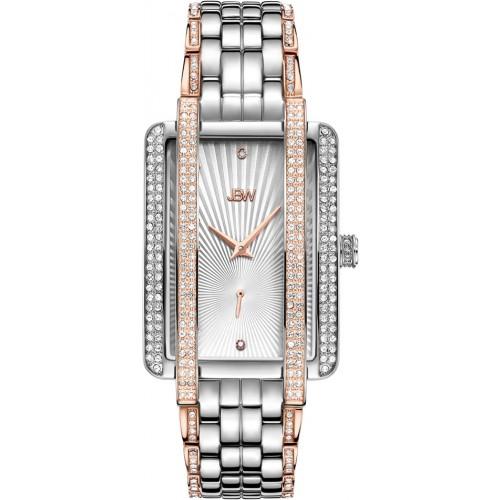 Women's Mink .12 ctw Diamond Stainless Steel Watch J6358D
