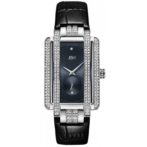 Women's Mink .12 ctw Diamond Black/Silver Watch