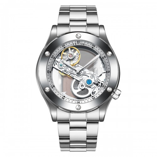 Aigon Hollow Automatic Steel Silver
