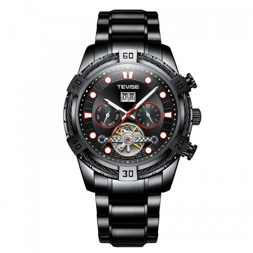 Barbarian Automatic Ionic Black/Red Trim