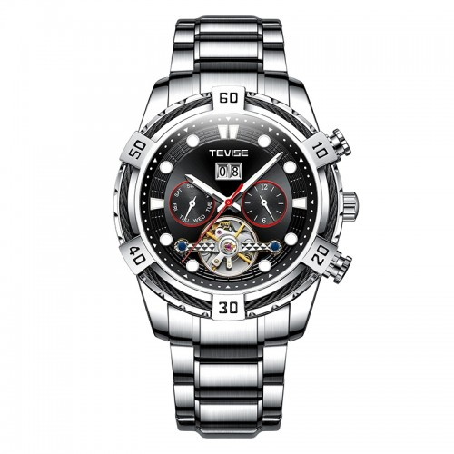 Barbarian Automatic Steel Silver