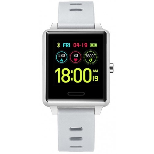 SMART WATCH Silver/Silicon