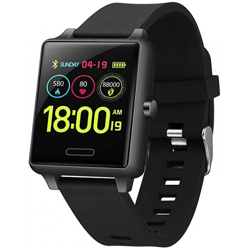 SMART WATCH Black Ion/Silicone