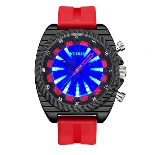 Flash UV Red Silicone