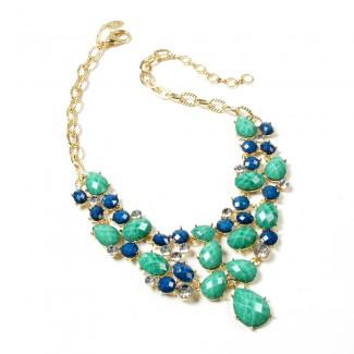 Hampton Fantasy Necklace Lapis/Turquoise
