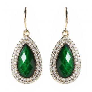 Culver Drop Earring Evergreen