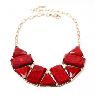 Blair Necklace Ruby