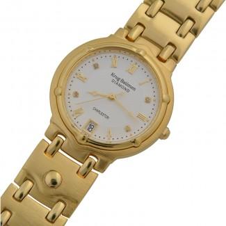 *****KRUG BAUMEN***** Men's Charleston Diamond Watch 5116DM