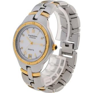 *****KRUG BAUMEN***** Men's Regatta Diamond Chronograph Watch