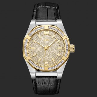Men's Apollo 0.10 ctw Diamond Stainless Steel Watch J6350E