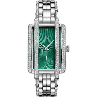 Women's Mink .12 ctw Diamond Stainless Steel Watch J6358A