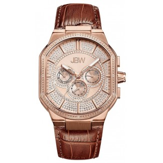 Orion 12 Diamonds Rose Gold/Tan