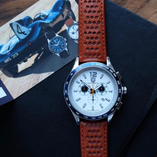 The Écurie Ecosse Chronograph White