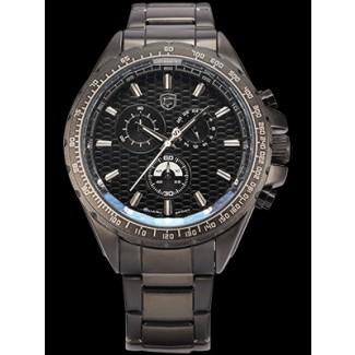 Men's Frilled Shark Steel Big One Chronograph Watch