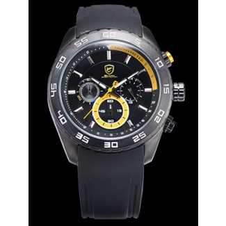 Men's Spinner Shark 48mm Chronograph Watch SH259
