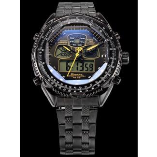 Men's Eightgill Shark 2 Dual LED Stopwatch Chronograph Watch