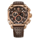 Men's 4S Rose Gold Brown Chronograph
