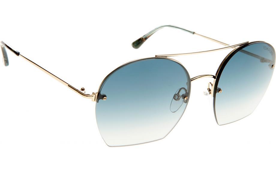 4c009667ad7 100% Genuine  TOM FORD Women s Antonia Light Blue Gradient Sunglasses w   case