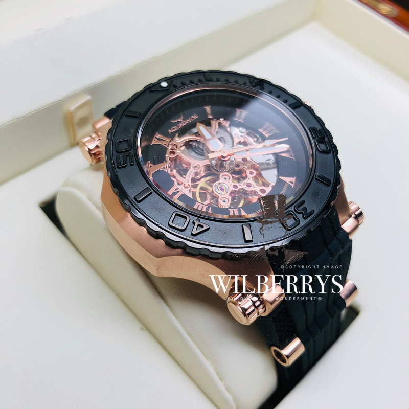 AQUASWISS Bolt G Automatic Rose Gold